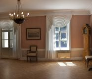 Interior of the old Russian estate. Stock Images