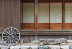 Old farm house in Japan. Old farm house in Historic Village of Shirakawa-go in Japan Stock Images