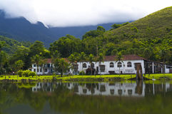 Old Farm house - Panoramic Stock Image