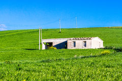 Old farm house in Sicily Royalty Free Stock Images