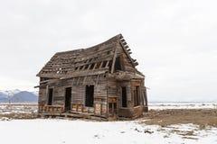 Old farm house, Sierra Valley, California Stock Photography