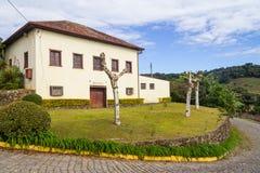 Old farm house Vale dos Vinhedos valley. Bento Goncalves, Rio Grande do Sul, Brazil Royalty Free Stock Photos