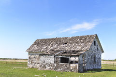 Old farm left to rot. Old farm in the middle of nowhere left behind, with no one to look after Royalty Free Stock Photos