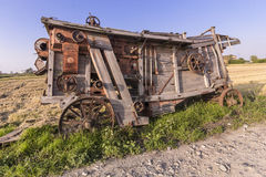 Old farm machine Royalty Free Stock Image