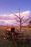 Old farm machinery Royalty Free Stock Images