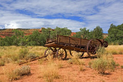 Old Farm Machinery Capitol Reef National Park Stock Photo