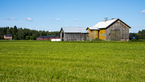Old farm Stock Photography