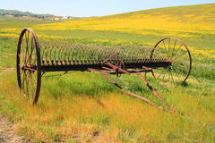 Old Farm Plow Royalty Free Stock Photography