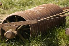 Old farm roller Royalty Free Stock Images