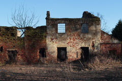 Old farm ruin Royalty Free Stock Photos