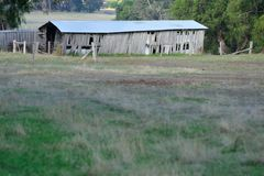 An Old Farm Shed Royalty Free Stock Photos