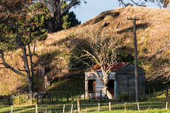 Old Farm Shed Royalty Free Stock Photo