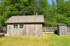 An old farm shed at skagway Stock Photo