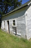 Old Farm Shed Stand Idle In A Deteriorating State Stock Image