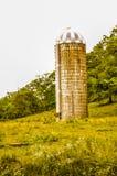 Old Farm Silo Royalty Free Stock Photo