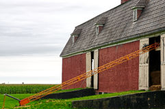 Old farm. An old farm in southern Quebec that was once the longest in the world (Guinness). It is now a research center for bovine production Royalty Free Stock Photography
