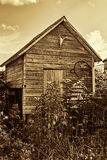 Old farm storage shed Royalty Free Stock Photos