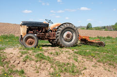 Old Farm Tractor Royalty Free Stock Photos