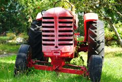Old Farm Tractor Stock Photos