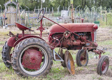 Old farm tractor Stock Photography
