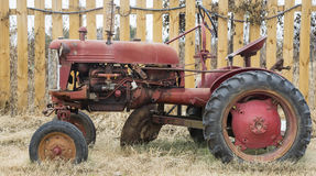 Old farm tractor Stock Images