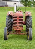 An Old Farm Tractor Stock Photo