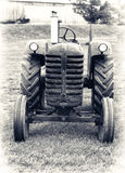 An Old Farm Tractor - Lightly Toned Stock Images