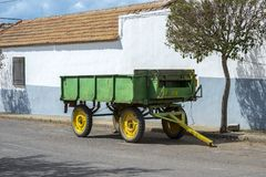 Old farm trailer Royalty Free Stock Photography
