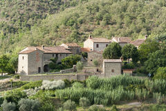 Old farm in Tuscany Royalty Free Stock Image
