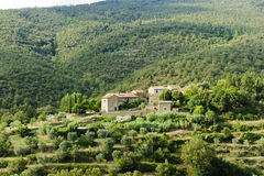 Old farm in Tuscany Stock Images