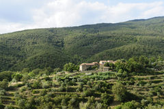 Old farm in Tuscany Stock Photography