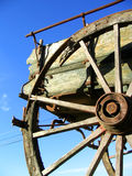 Old farm wago royalty free stock photos