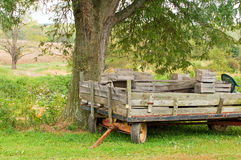 Old farm wagon or trailer Royalty Free Stock Image