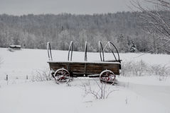 Old farm wagon Royalty Free Stock Photos