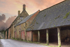 Old farm, Warwickshire Royalty Free Stock Photography