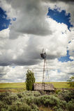 Old Farm Windmill Stock Photography