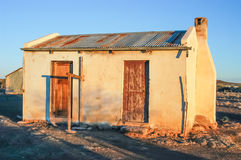 Old farm worker house Royalty Free Stock Images