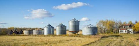 Old Farm Yard Stock Photo