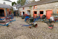 Old farm yard in Bunratty Folk Park Stock Image
