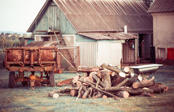 Old farm yard Royalty Free Stock Photography