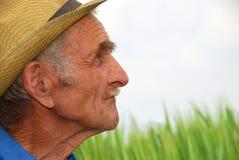 The old farmer 2 Stock Photo