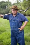 Old Farmer Portrait Stock Photos