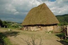 Old farmer's wooden house Stock Photos