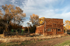 Old farmhouse stock photography
