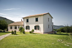 Old Farmhouse. In the Aurunci mountains in Italy Royalty Free Stock Photo
