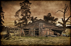 Old farmhouse Royalty Free Stock Photo