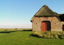 Old farmhouse. On the danish island of Røm Stock Photos