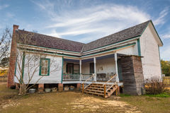 Old farmhouse in Alabama royalty free stock photography