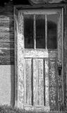 Old farmhouse door. Stock Images