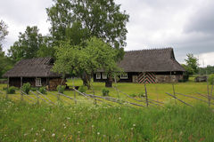 Old farmhouse, Estonia Royalty Free Stock Images